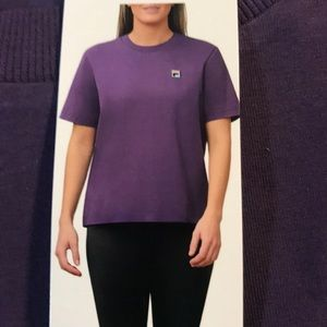 Fila Ladies Athletic Tee in Gothic Grape